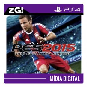 PES 15 MIDIA DIGITAL PS4