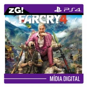 Farcry 4 MIDIA DIGITAL PS...