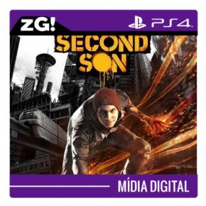 Foto Infamous Second Son MIDIA DIGITAL PS4
