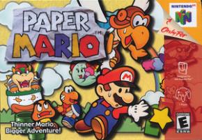 Paper Mario (Seminovo) Nintendo 64