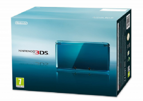 Nintendo 3DS Aqua Blue +...