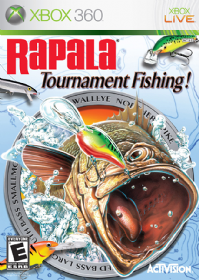 Foto Rapala Tornament Fishing (Seminovo) XBOX 360