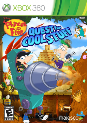 Foto Phineas and Ferb Quest for Cool Stuff (Seminovo) XBOX 360