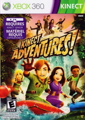Kinect Adventures XBOX 360 - Seminovo