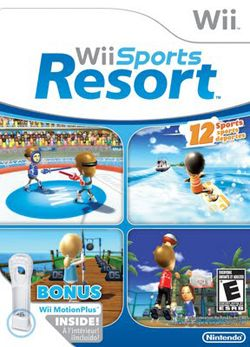 Foto Sports Resort com Motion Plus Branco Wii