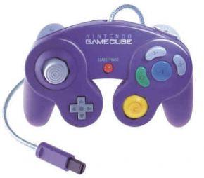 Controle Game Cube Roxo -...