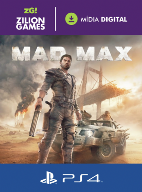Foto Mad Max MIDIA DIGITAL PS4