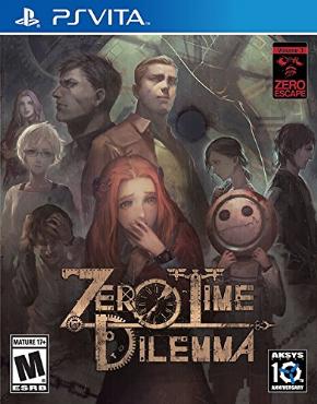 Zero Time Dilemma PSVita