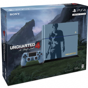 Foto Sony Playstation 4 1TB Bundle Uncharted LIMITED + 3 Anos de Garantia