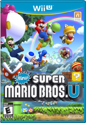 Foto New Super Mario Bros. U Wii U - Seminovo