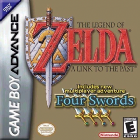 Foto The Legend of Zelda A link + Four Swords (Seminovo) GameBoy Advance