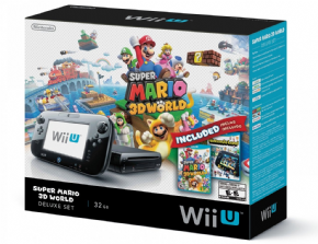 Nintendo Wii U 32GB + 02 Jogos de Brinde...