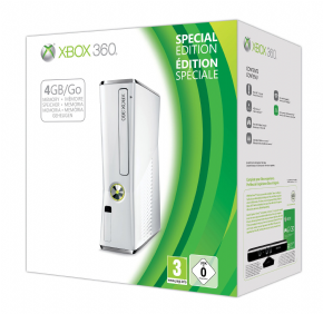 XBOX 360 Slim 4GB LIMITED...
