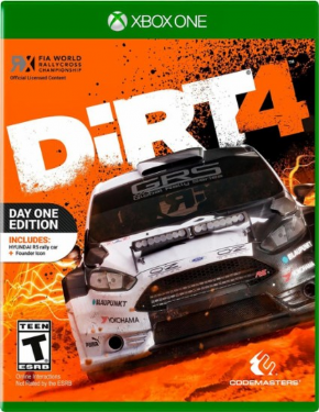 Foto Dirt 4 Day One Edition XBOX ONE - Seminovo