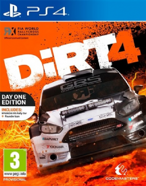 Dirt 4 Day One Edition PS...