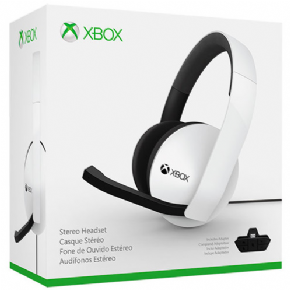 Xbox One Stereo Headset + Adaptador 3,5...