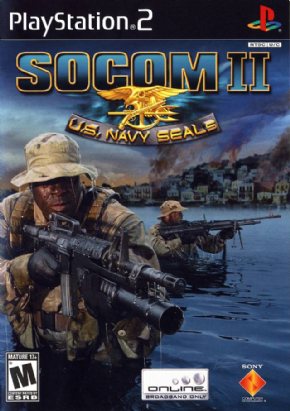 Socom II (Seminovo) PS2