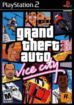 Gran Theft Auto Vice City...
