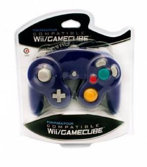 Foto Controle Console GameCube e Nintendo Wii - Roxo