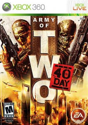 Army of Two 40 Days  XBOX...
