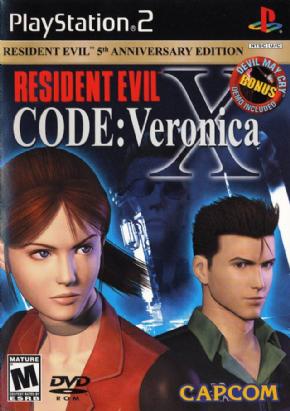 Foto Resident Evil Code Veronica X Bonus Edition (Seminovo) PS2