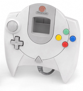Controle Dreamcast (Semin...