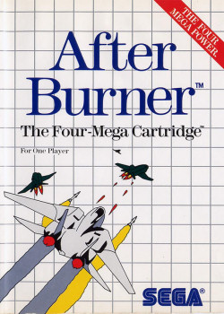 After Burner Tectoy Master System - Semi...