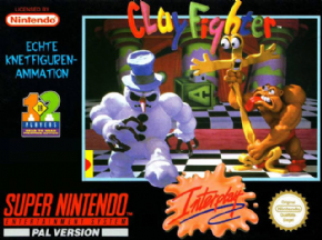 Foto Clay Fighter (Seminovo) Super Nintendo