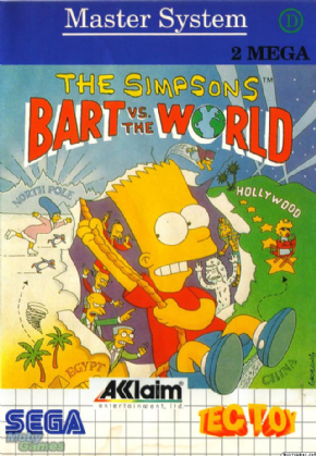 The Simpsons Bart vs Worl...