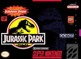 Foto Jurassic Park (Seminovo) Super Nintendo