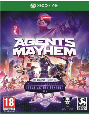 Foto Agents of Mayhem XBOX ONE