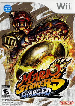Mario Strikers Charged WII - Seminovo