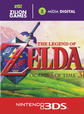 Foto The Legend of Zelda: Ocarina of Time 3D MIDIA DIGITAL 3DS