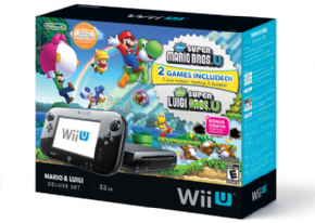 Foto Nintendo Wii U Deluxe Set | 32GB Bundle Mario & Luigi