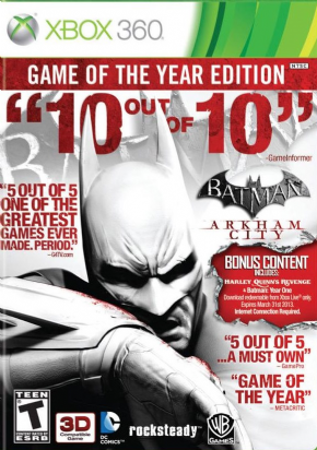 Foto Batman: Arkham City GOTY (Seminovo) XBOX360