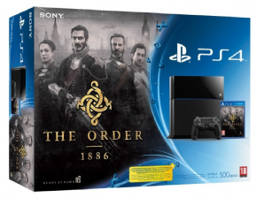 Foto Sony Playstation 4 - Bundle The Order 1886 + 3 Anos de Garantia ZG!