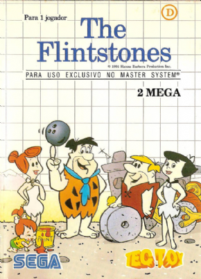 The Flintstones Master System - Seminovo