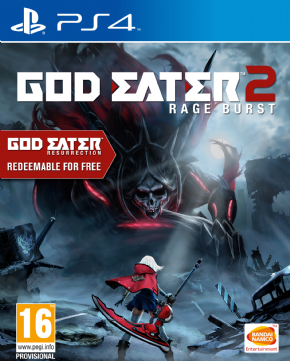 God Eater 2 Rage Burst Da...