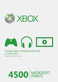 Cartão 4500 Microsoft Poi...