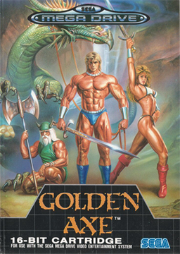 Golden Axe Mega Drive - Seminovo