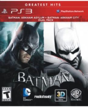 Batman Arkham Bundle PS3...