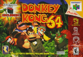 Donkey Kong 64 (Seminovo) Nintendo 64
