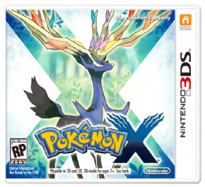 Pokemon - X (Seminovo) 3D...