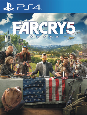 Farcry 5  PS4 - Seminovo