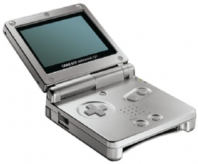Game Boy Advance SP Prata...