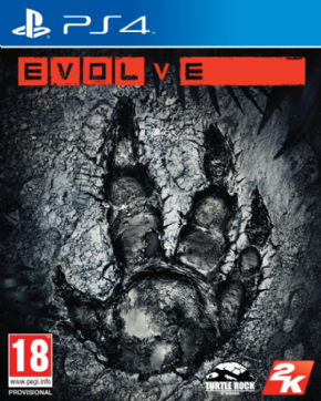 Evolve (Seminovo) PS4