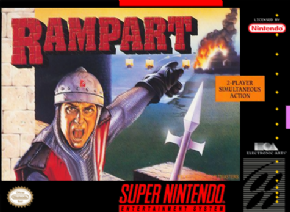 Rampart Super Nintendo -...