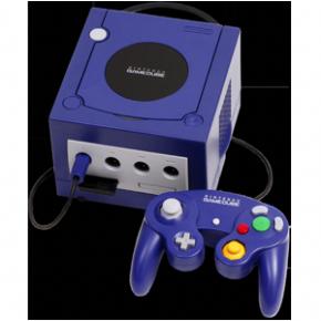Foto Nintendo Game Cube - Roxo (Seminovo)