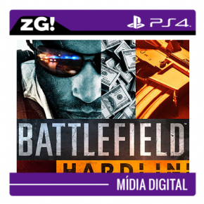 Foto Battlefield Hardline MIDIA DIGITAL PS4