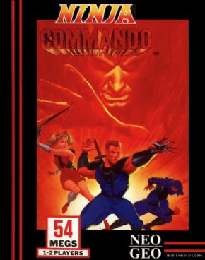Ninja Commando Neo Geo
